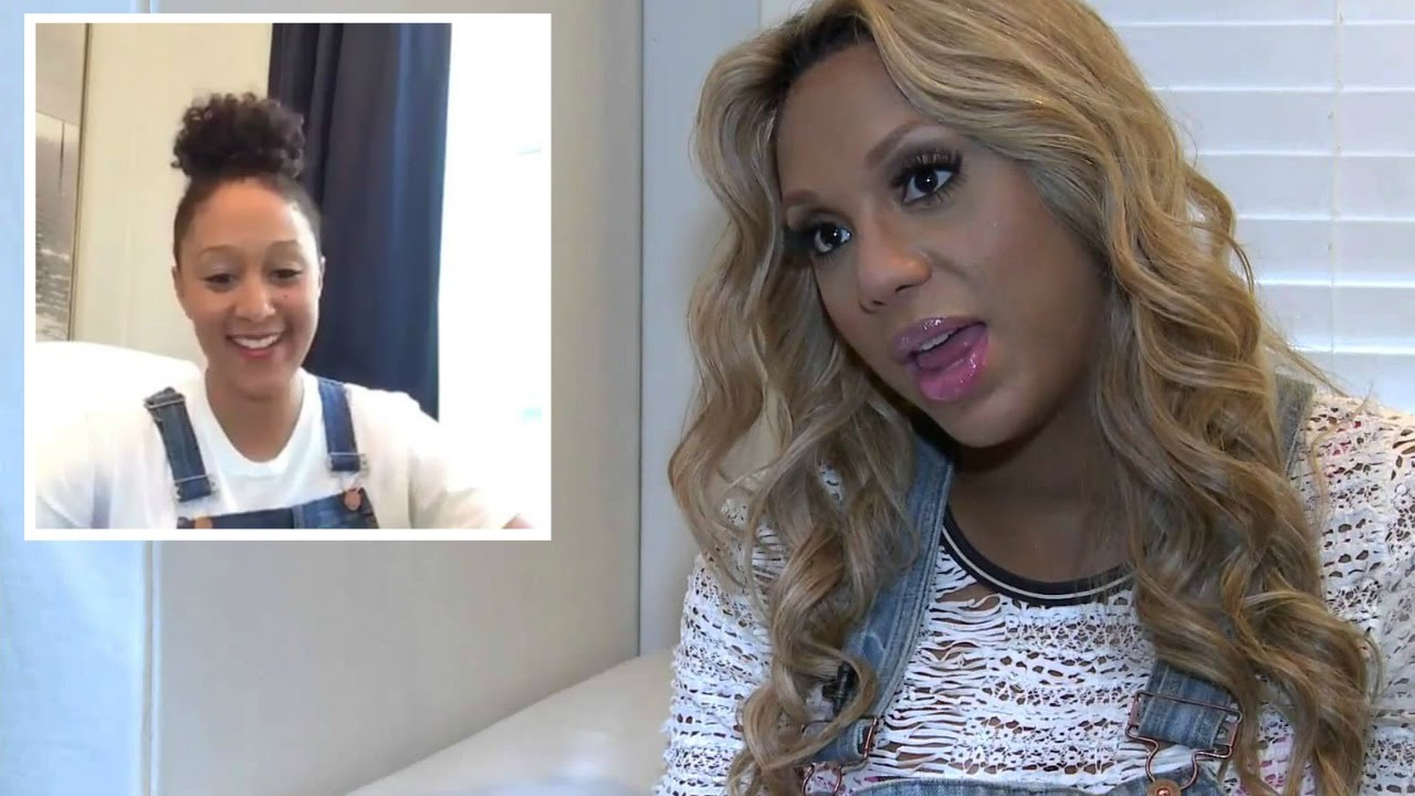 Why Tamar Braxton Shaded Tamera Mowry's Periscope Video