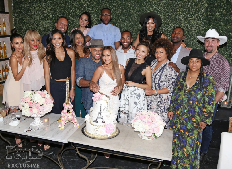 Israel Houghton and Adrienne Bailon Wedding Shower pictures