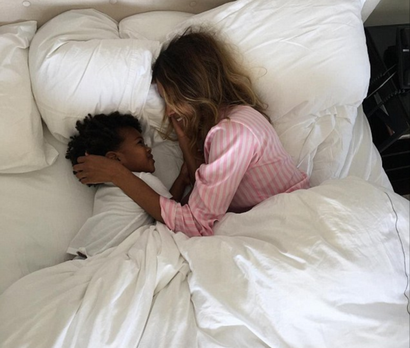 Ciara and son Future Zahir