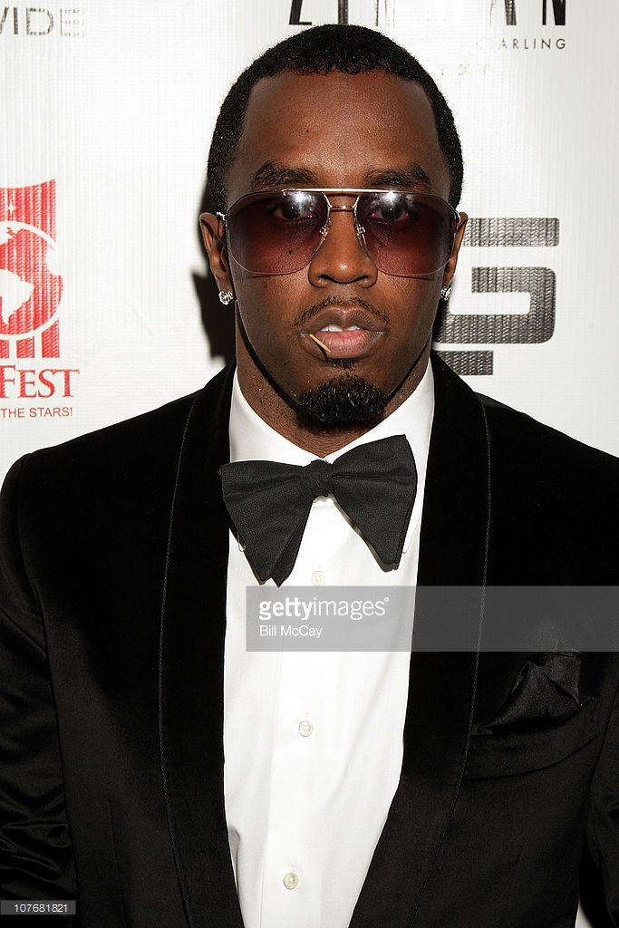 Diddy at Tyrone Gilliams charity gala