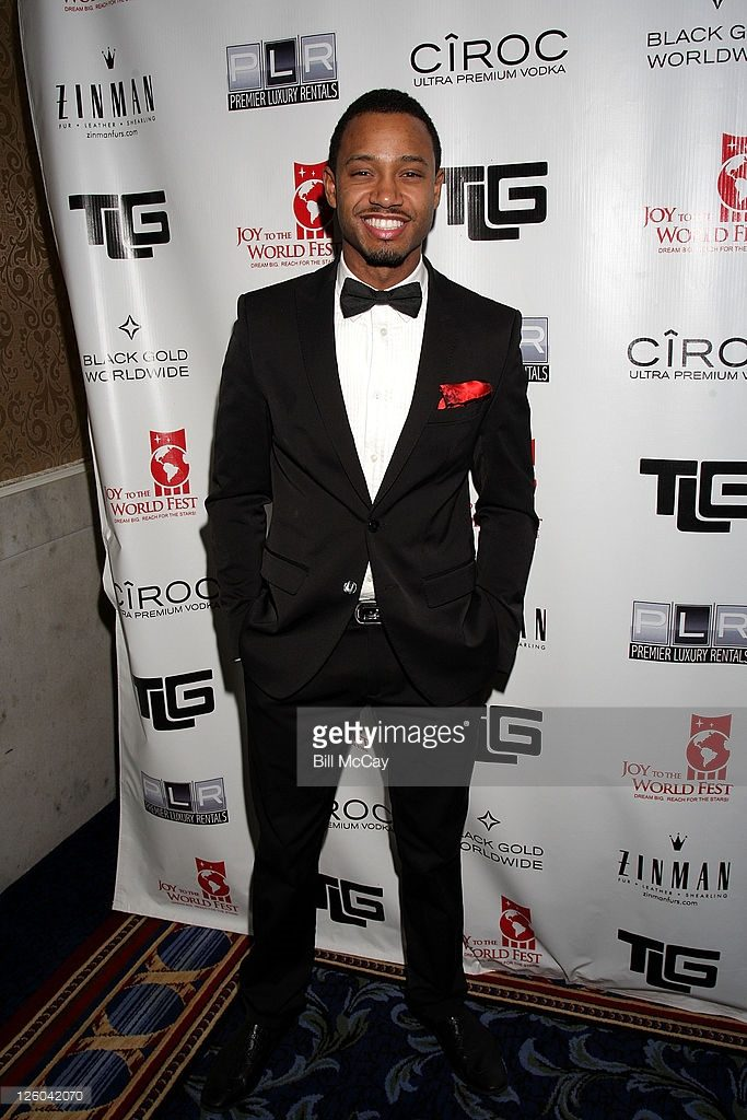 Terrence J at Tyrone Gilliams charity gala