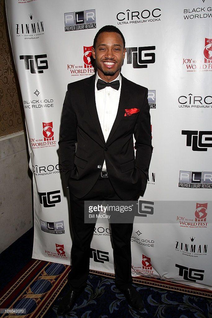 Terrence J at Tyrone Gilliams charity gala