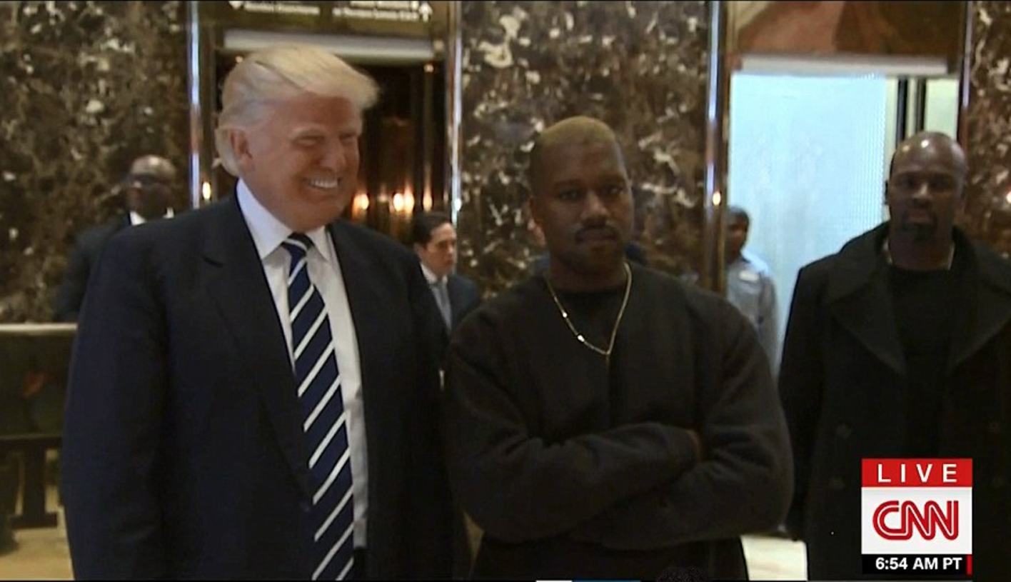Kanye West Meets with Donald Trump [video] Will Kanye Perform at Trump's Presidential Inauguration?