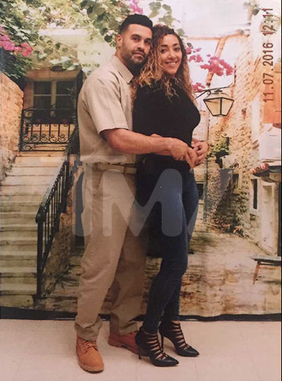 Apollo Nida and Sherien Almufti Photographed in Prison