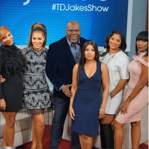 Did Tamar Braxton Shade The Real on TD Jakes Talk Show