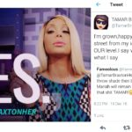 "Tamar CLAPS BACK at The Real Co Hosts  ""Lies""  and Responds to Blogger Fameolous Accusations"