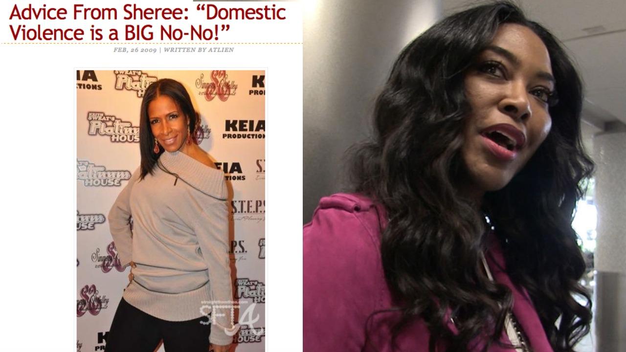 Kenya Moore CONFIRMS Sheree Violent Past Relationship on Instagram   Real Housewives of Atlanta tea