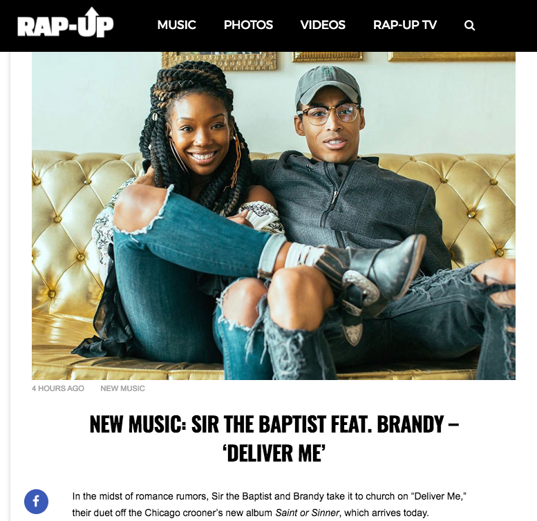 Brandy Sir the Baptist new album release saints and sinners
