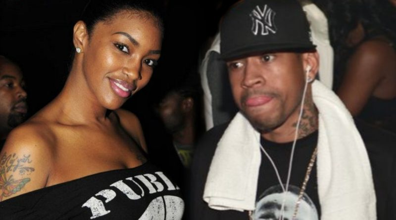basketball wives saniyyah samaa allen iverson side chick nba married