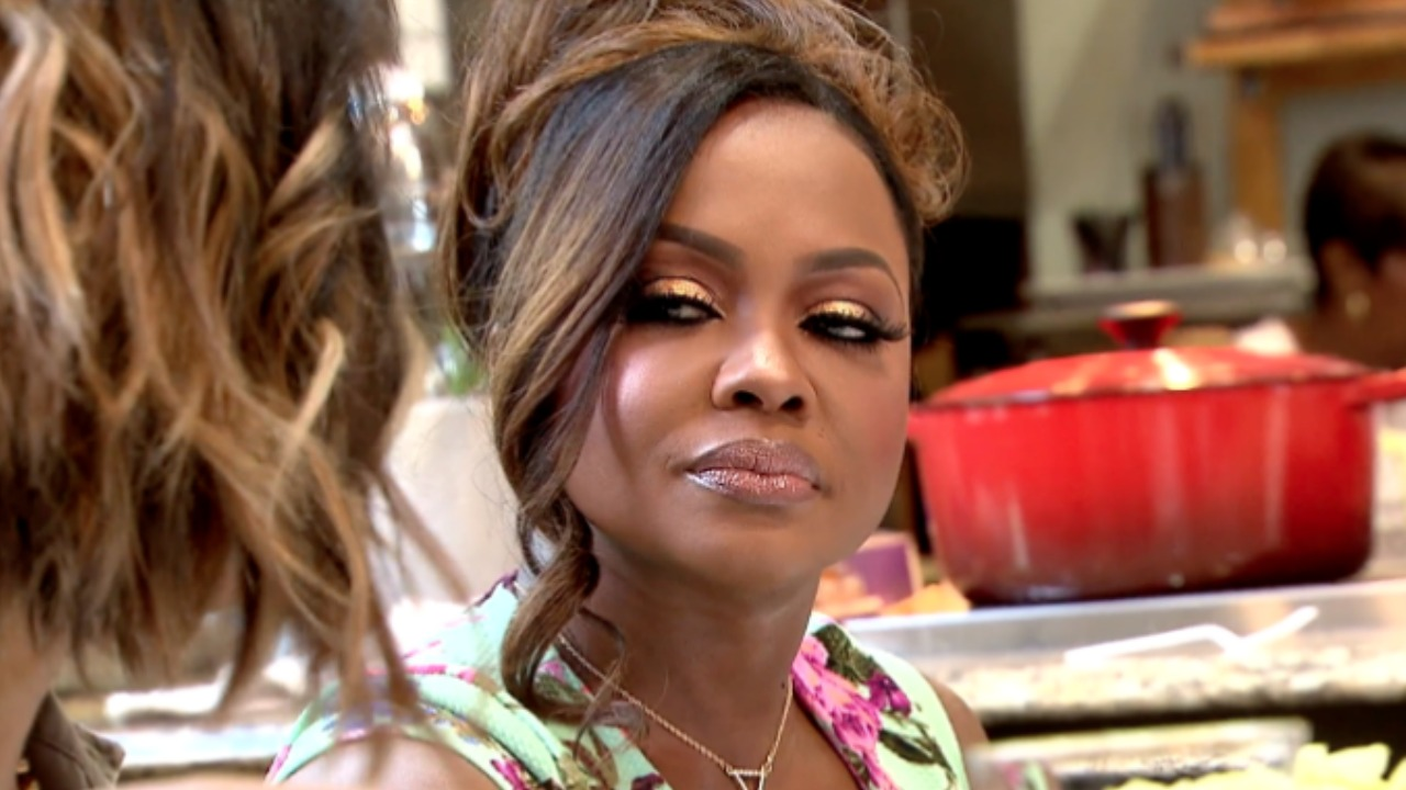 Phaedra Parks WILL film for Season 10 of Real Housewives of Atlanta