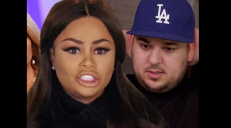 rob kardashian blac chyna file for restraining order break up push shove her