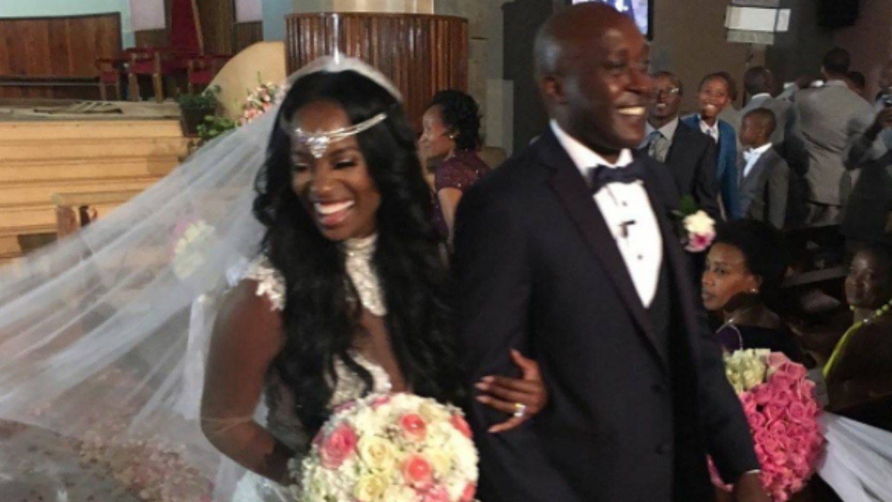 Shamea Morton Gets Married In Kenya
