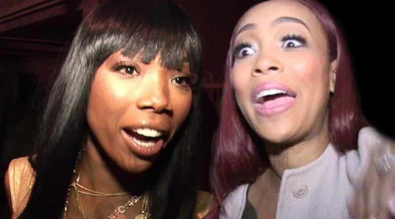 Brandy Norwood Monica Brown Whitney Houston Birthday Tribute Instagram Clap Back
