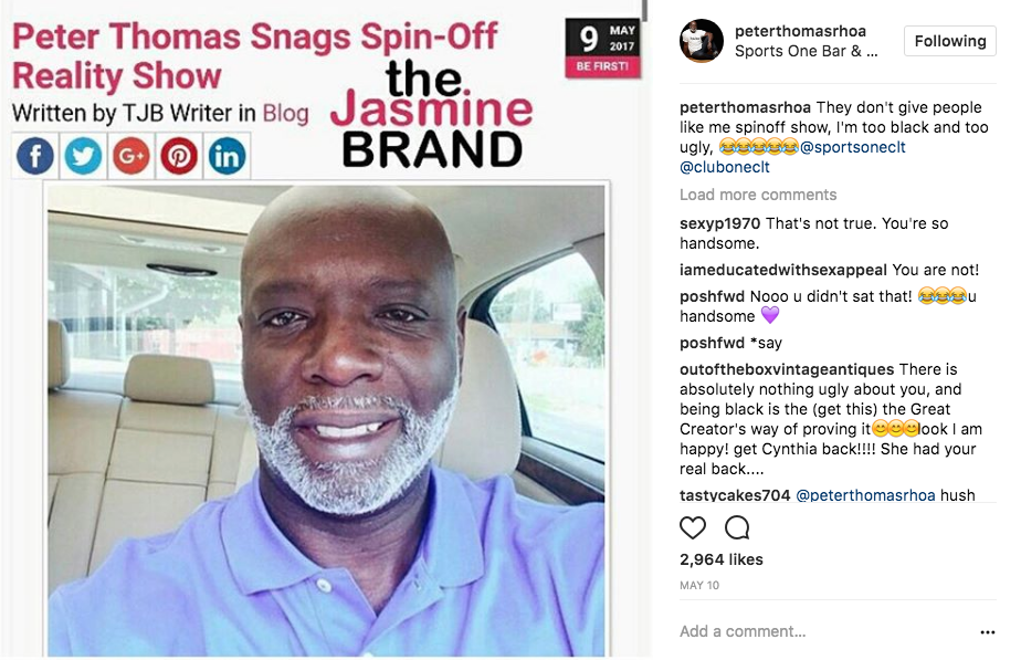 peter thomas rhoa spin off show