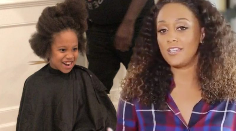 tia mowry hardrict son cree hair cut