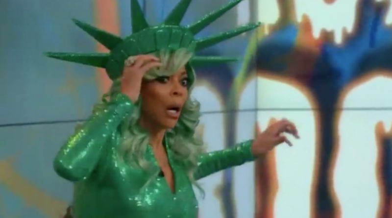 wendy williams faints on live television show