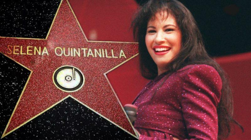 selena quintanilla star hollywood walk of fame