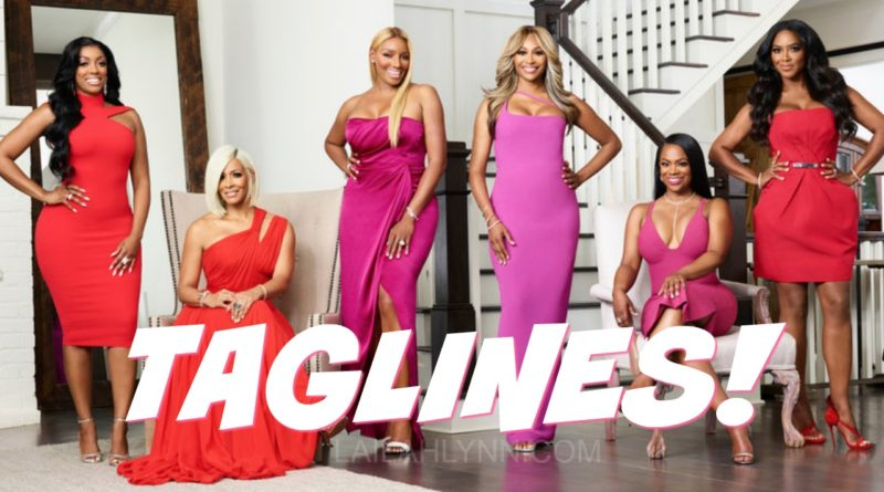 taglines for real housewives of atlanta season 10 ten nene cynthia porsha sheree kenya kandi cynthia