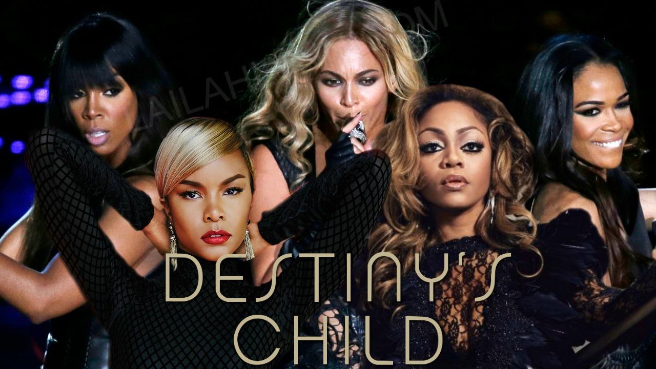 DC5 Reunion Destinys Child Original Members Beyonce ...