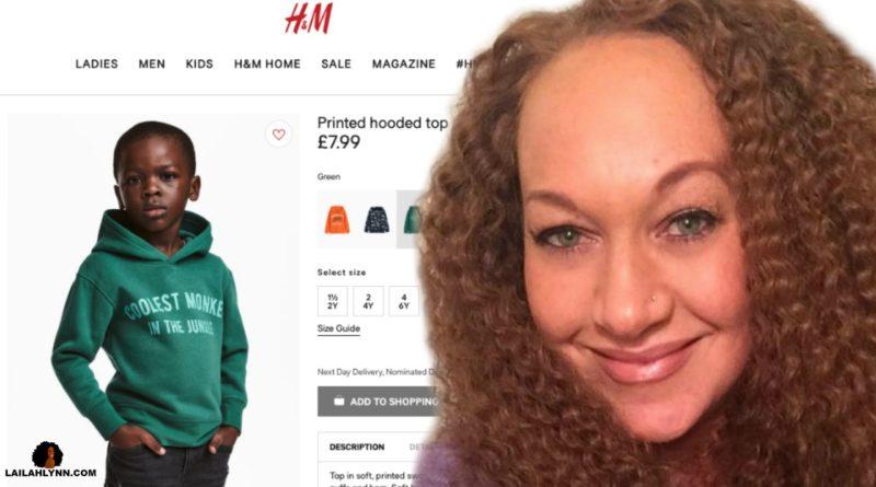 Rachel Dolezal H&M Protest Hoodie Sweatshirt