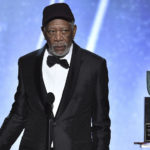 Morgan Freeman STOPS His SAG Awards Acceptance Speech To Address THIS Person