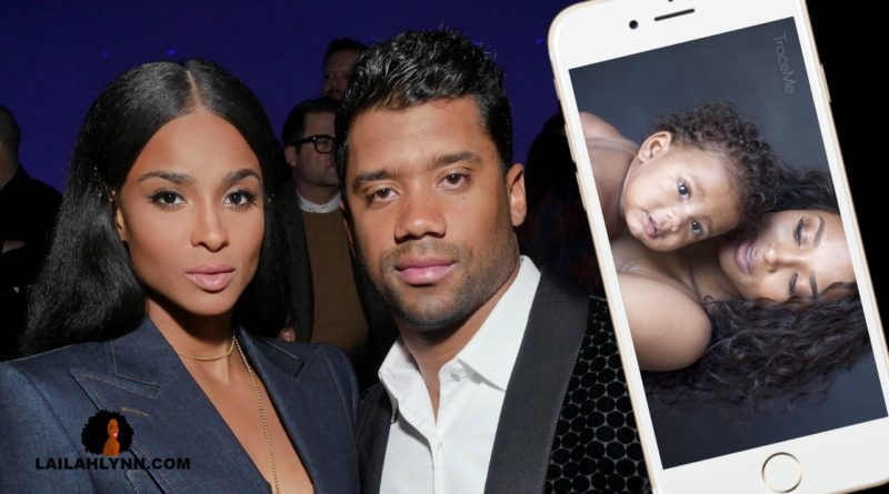 sienna princess wilson pictures video traceme app ciara russell wilson
