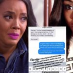 Angela Simmons' Little Sister Darian Puts Angela On Blast! Posts Shady Test Messages From Angela