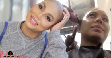 Tamar Braxton Shaved Her Head! Talk about a BIG CHOP!!