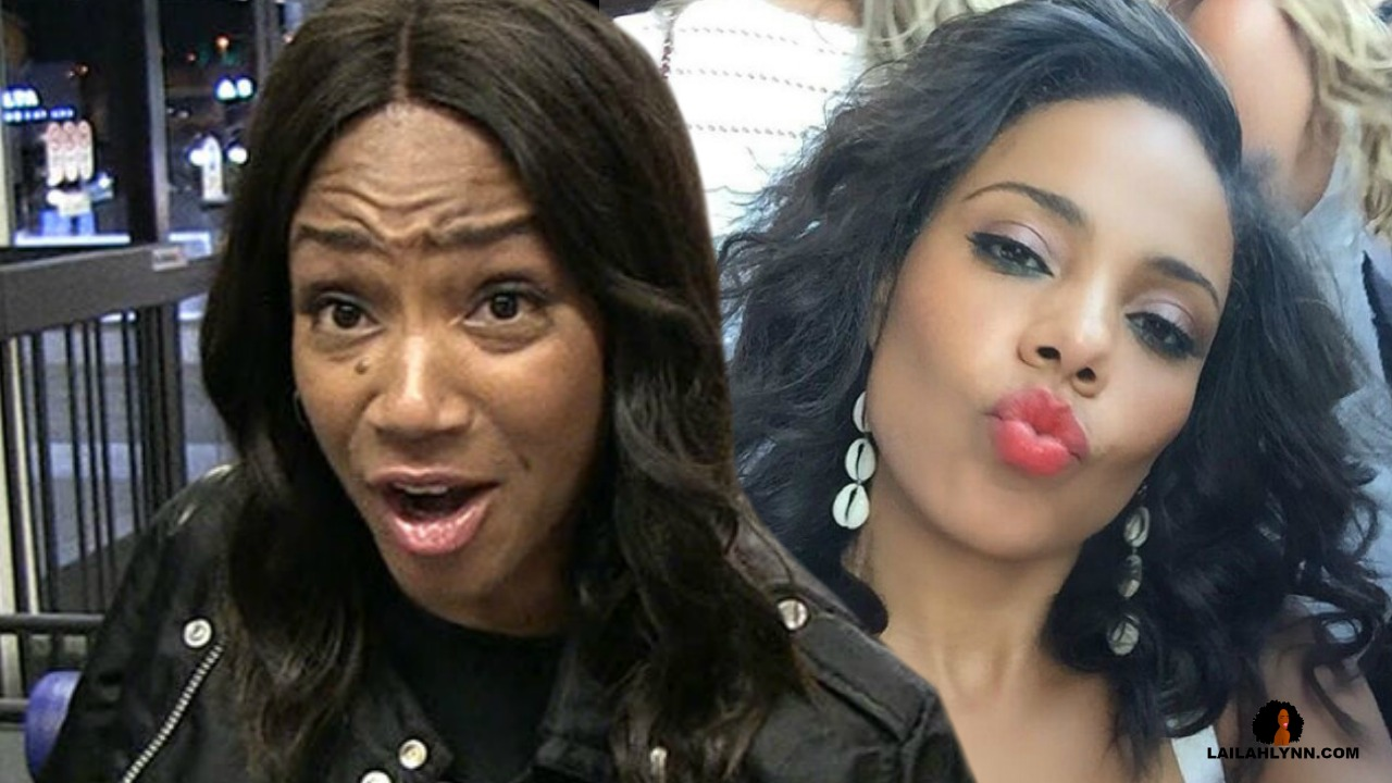 """Tiffany Haddish Reveals It Was Sanaa Lathan That Bit Beyonce! She Claims It Was A """"Love Bite"""""""