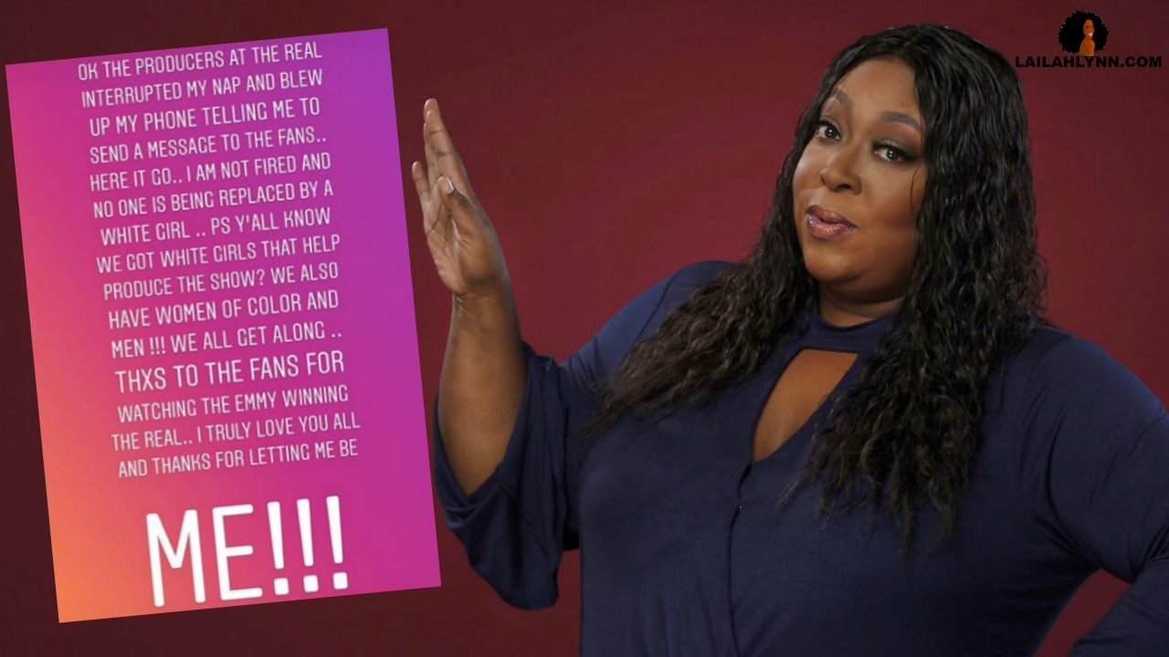 'The Real' Producers' Make Loni Love Deny Rumors That She's Being Fired