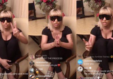 Nicki Minaj Goes LIVE To Make A Surprising Announcement
