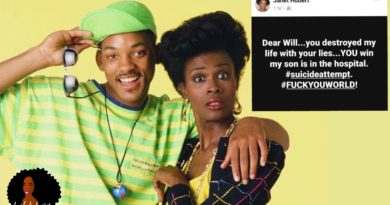 Janet Hubert's Full FB Rant Blaming Will Smith For Son's Suicide Attempt, Trashes Jada's 'Red Table Talk'
