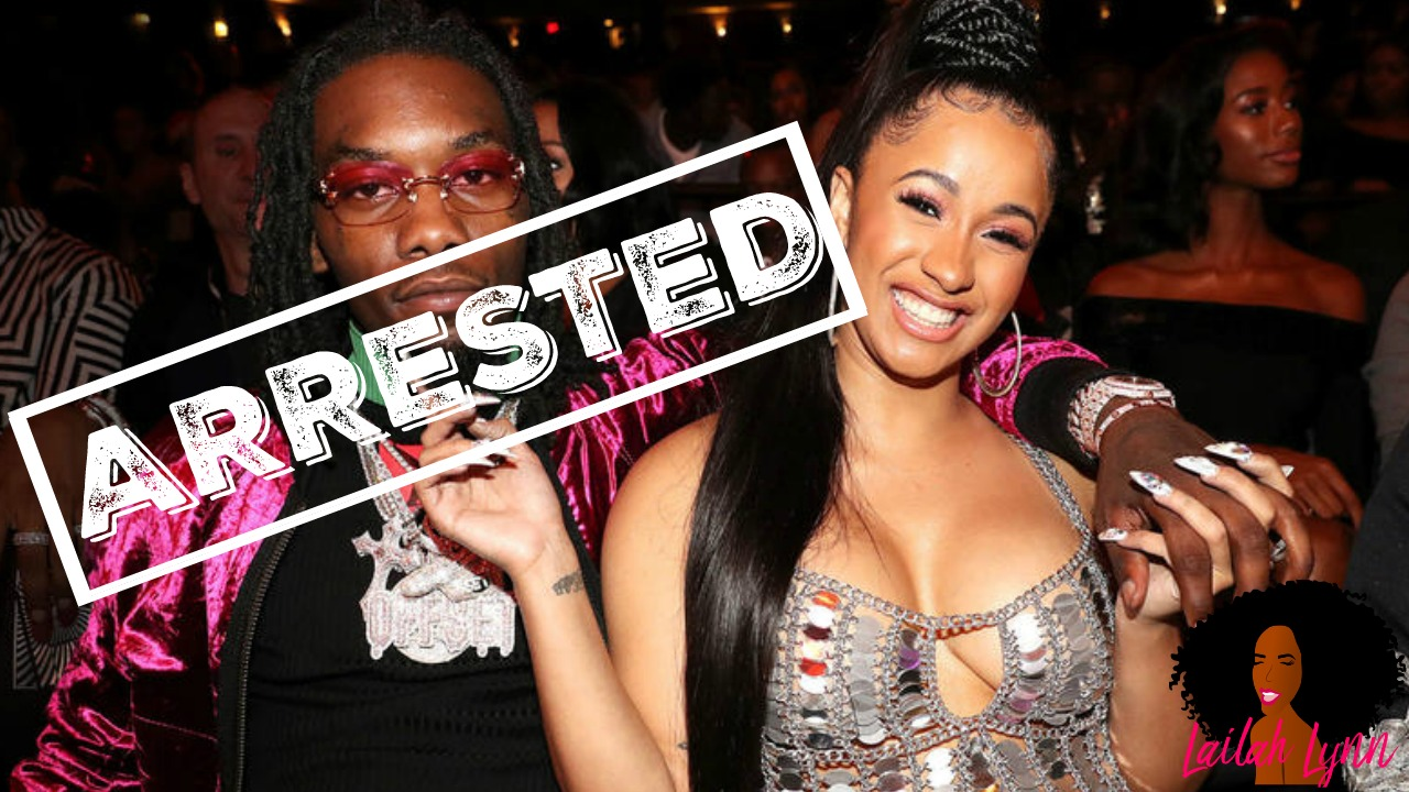 Offset Arrested Just 10 Days After The Birth Of His Daughter With Cardi B