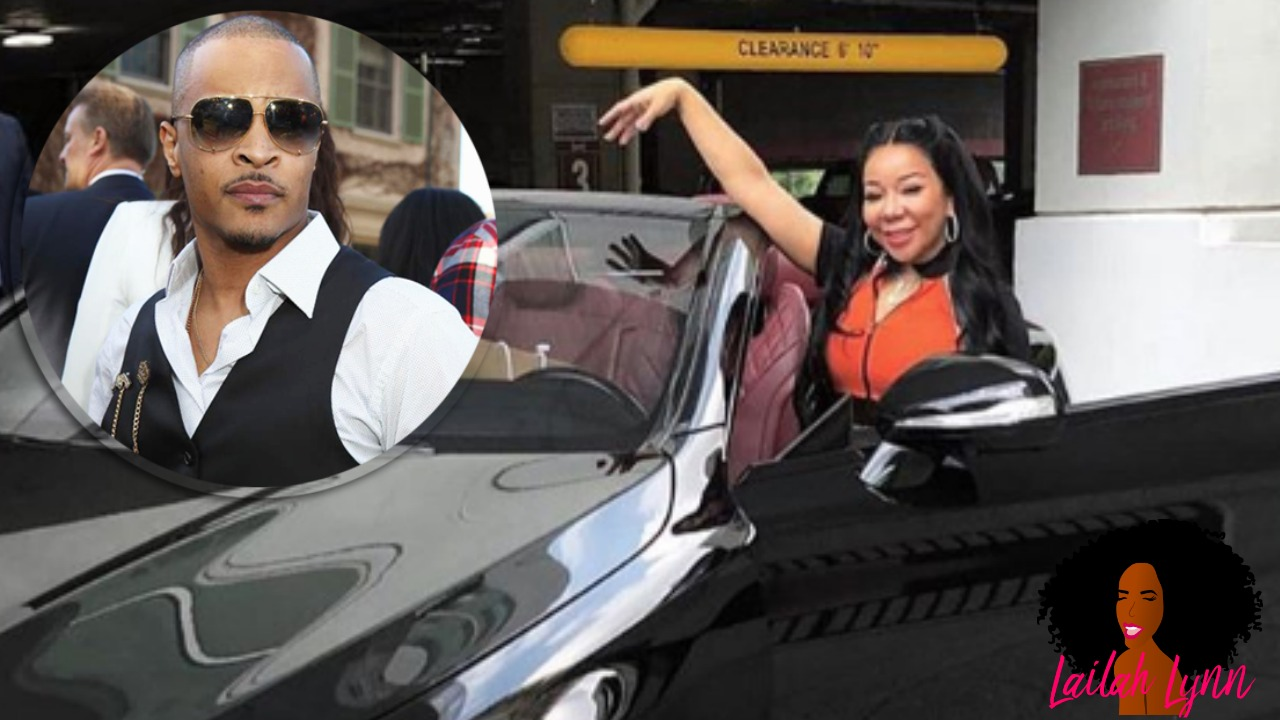 TI Tells Tiny To 'Do Her Own Thing' On Her Birthday On IG Live, Then Gives Her A Brand New Car