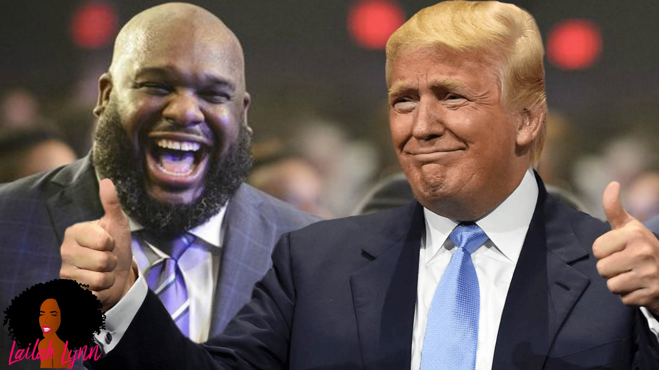 Pastor John Gray Says He Got What He Prayed For After Getting A Thumbs Up From 45
