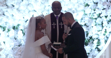 Michael Sterling Explains Why He Called God A Woman In His Wedding Vows To Eva Marcille