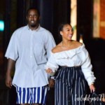 Diddy and Lori Harvey Are Spotted In Matching Outfits