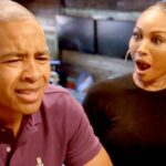 """Mike Hill Says Cynthia Bailey """"Knows Nothing About Wine Except She Likes To Drink It"""""""