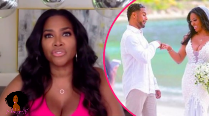Kenya Moore Caught Lying Forgetting Where She Was Married In New Interview Lailah Lynn